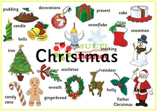 Từ vựng chủ đề về Giáng Sinh